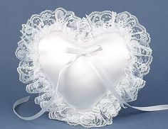 How to make a lace trimmed heart shaped pillow http://www.hometone.com/valentines-day-diy-lace-trimmed-heart-shaped-pillow.html
