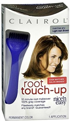 Clairol Nice 'n Easy Hair Color Root Touch-Up 006A Light Ash Brown 1 Kit (Pack of 2) -- More info @