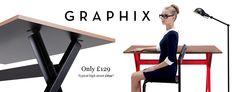 Graphix Contemporary Desk Collection