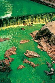 "Olafur Eliasson ""Green River"""