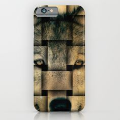 Woven Wolf #iPhone_6_Cases  #iPhone_6_Plus_Cases