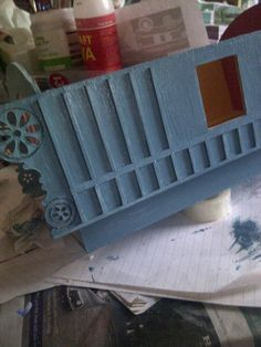 Miniature Gypsy Caravan: The roof and outer walls