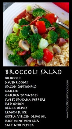 Broccoli Salad -- Not Your Everyday Deli Salad!
