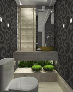 Click Interiores   Banheiros Com Jardins