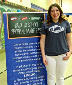 Clorox and DonorsChoose.org are giving back to kids in need and helping them succeed at school #adgiving
