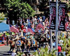 Horses on Parade, Coronado Fourth of July