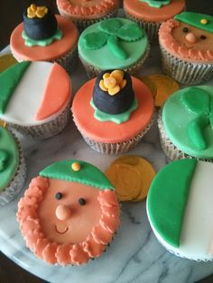 Hi everyone, this week I have decided to do a St Patricks Day post. So last night I made some cup cakes and decorated them with St Paddys th. St Paddys, Happy St Patricks Day, Cup Cakes, Red Hair, Bliss, Posts, Desserts, Food, Tailgate Desserts