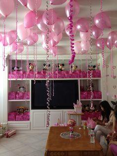 diy at home pink bridal shower