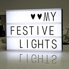 Free Combination Letters Diy Cinematic Led Light Box Wedding Home Party Decor Complete Range Of Articles Event & Party Festive & Party Supplies
