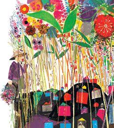 Brian Wildsmith  flower garden