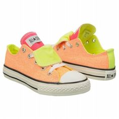 New summer kicks! Converse Kids CT DT Washed Neon OX Shoe