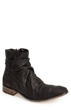 John Varvatos Collection 'Richards - Sharpei' Zip Boot (Men) available at #Nordstrom