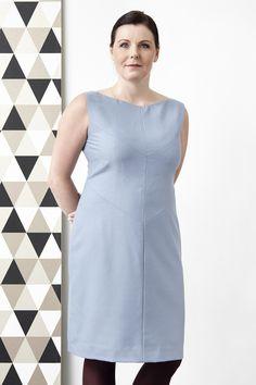 Dress in light blue/grey