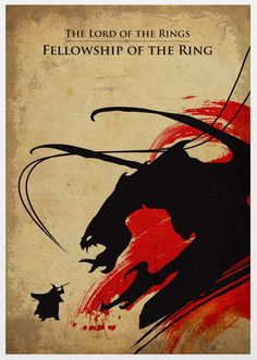 The Lord of the Rings, Fellowship of the Ring Poster 11X17. $40.00, via Etsy.
