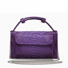 9af22cc27ee3 38% СКИДКА|TOPHIGH кошелек Роскошные мини кожаная сумка из натуральной кожи  Кроссбоди мешок Высокое качество Змеиный узор кожаная сумка L172 купить на  ...