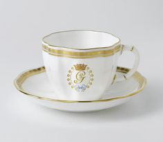 Royal Crown Prince George of Cambridge Collection Tea Cup & Saucer
