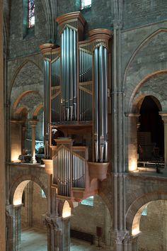 Bertrand Cattiaux organ, Reims, St Remi