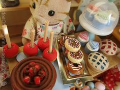 Calico Critter Sweet Shop Goodies (19 pieces) on Etsy, $15.00