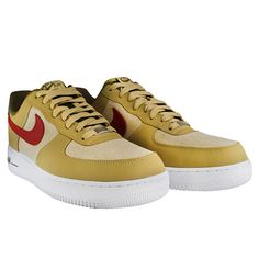 buy popular 837c0 edb56 Nike Air Force 1 Low Jersey Gold