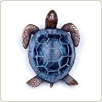 Brass Sea Turtle Doorbell
