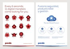 New Logo and Identity for Panda Security by Saffron