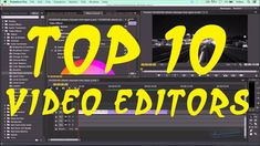 Top 10 Best Video Editors (PC Softwares) - by ashclicks