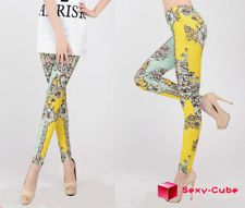 2013 New Sexy Seamless Leggings For Women Retro Geometric Printing Tights Pants