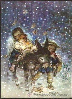 FELICITACIÓN NAVIDAD FERRÁNDIZ - AÑO 1971 (Postales - Navidad)
