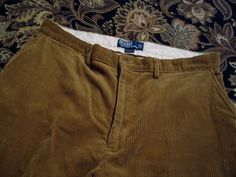 Ralph Lauren Corduroy Pants Slacks Clothing Size 36  / 30100% Cotton #RalphLauren #CasualPants