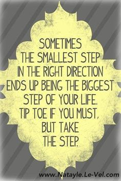 Make that step toward a better you!