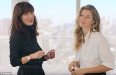Co-star: The 35-year-old mother-of-two created the video tutorial in collaboration with Chanel'sGlobal Make-Up and Color Designer Lucia Pica, with the pair trading their top beauty tips throughout the clip