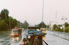 Instagram @cml09  Bogotá en un día de lluvia