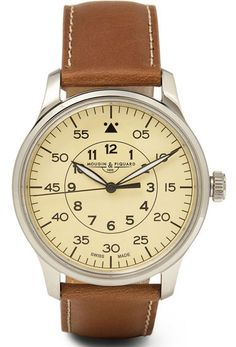 Brown Leather Watch - I like this one.
