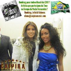 IZMY & Paula Fernandes . European tour 2012