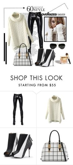 """*Oversized Sweater Contest* - Set #2"" by sassy-elisa ❤ liked on Polyvore featuring Yves Saint Laurent, ALDO, Ray-Ban, Christian Dior and oversizedsweater"
