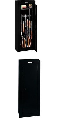 Cabinets and Safes 177877: 16 Gun Steel Security Cabinet ...