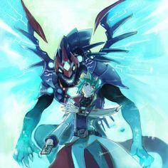 Kaito and Galaxy Eyes Photon Dragon