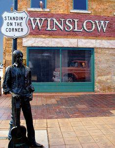 Standin' on the Corner in Winslow Arizona