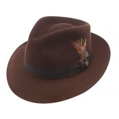 424580bd Stetson Chatham Teardrop Crown Fedora Grown Man, Dress Hats, Cool Hats, Hats  For