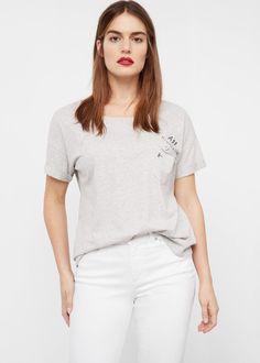 Pocket cotton t-shirt | VIOLETA BY MANGO