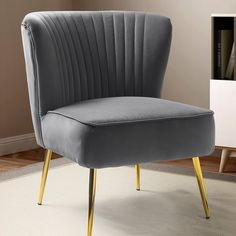 Velvet Wingback Chair, Upholstered Arm Chair, Chair And Ottoman, Round Storage Ottoman, Round Ottoman, Corporate, Barrel Chair, Chair Fabric, Toss Pillows