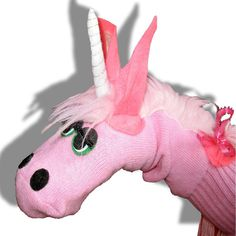 Galaxy is a gorgeous, magical Unicorn Sockett with a grace and dignity befitting an ancient, mythical creature. This unique unicorn sock puppet is