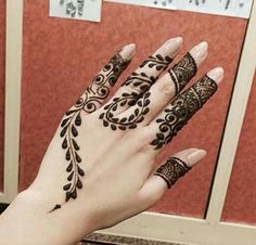 exquisite mehndi design 7