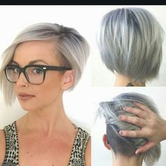 Let's start blowing up @efoxxhair news feed. @hairbyelm is the model is this picture. @playwithscissors. How fast to 1000 double taps