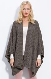 Ponchos are back!