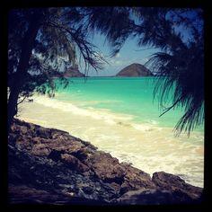 Bellows Beach, Oahu.....such a romantic place...LOVE IT.   ;)