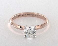 .7ct Round Solitaire Engagement Ring in 360-HD SuperZoom (Rose Gold)