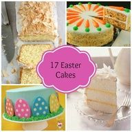 17 Easter Cakes #Easter #Cakes