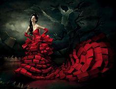 Ravishing red. OMG.