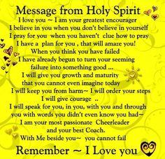 Grateful for the gift of the Holy Spirit! Prayer Scriptures, Bible Prayers, Prayer Quotes, Faith Quotes, Bible Verses, Holy Quotes, Famous Quotes, Holy Spirit Prayer, God Prayer